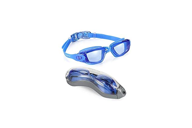 Aegend Swim Goggles Swimming No Leaking Anti Fog UV Protection Triathlon With Free Case For Adult Men Women Youth Kids