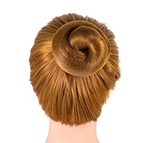 Favsonhome - 20 redes de pelo reutilizables invisibles con borde elástico para...