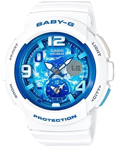 [カシオ] 腕時計 ベビージー BEACH TRAVELER BGA-190GL-7BJF ホワイト
