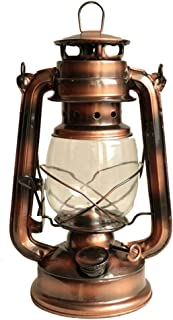 YDGYW Oil Lamps Retro Lantern Traditional Old Oil Lamp Storm Lantern Kerosene Lamp Camping Picnic Photographic Photography Prop Decoration Lamp