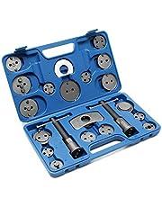 Reposicionador de pistones de freno Set 22 piezas Con placas adaptadoras para diferentes modelos