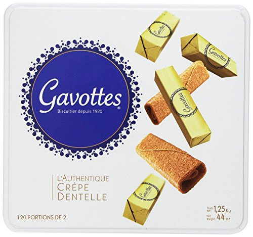 Gavottes - Crispy Lace Crepes from France, 240ct, 44oz by Loc Maria [Foods]