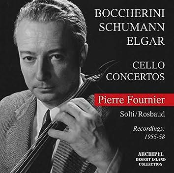 Boccherini, Schumann & Elgar: Cello Concertos