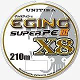 ユニチカ(UNITIKA) ライン キャスライン エギングスーパーPEIII X8 210m 0.8号