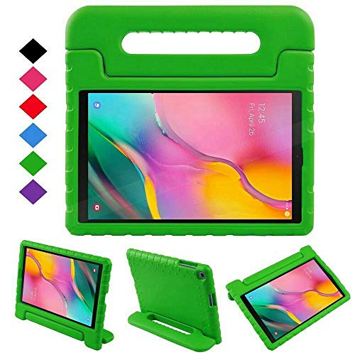 YCXBOX Samsung Galaxy Tab A 10.1 2019 Case, Model SM-T510/T515, Shockproof Light Weight EVA Kids Protection Handle Stand Kids Case Cover for Samsung Galaxy Tab A 10.1 2019 Release