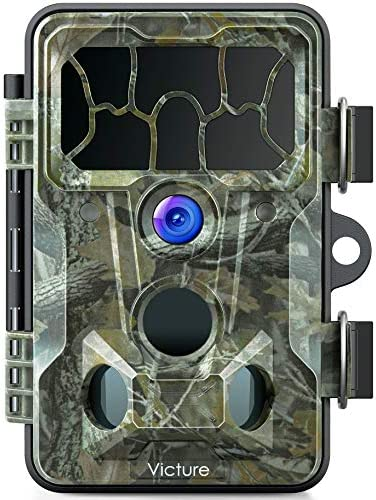 Victure Trail Game Camera Waterproof IP66 with Night Vision 20MP 1080P and 130 Detection Hunting product image