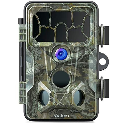 Victure Trail Game Camera Waterproof IP66 with Night Vision 20MP 1080P and 130° Detection Hunting Camera Trap for Outdoor Wildlife Monitoring