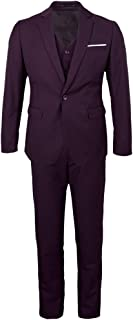 IPOTCH Men's 3 Piece Suit Formal Dress