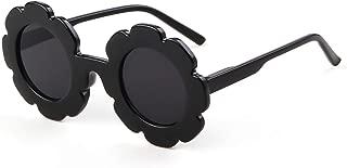 Sunglasses for Kids Round Flower Cute Glasses UV 400...