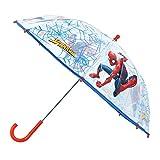 Spiderman Plástico Transparente Paraguas 24'