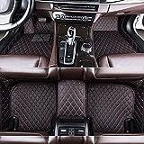Congxy Alfombrillas Coche para Volkswagen Golf Golf 6 GTI R Variant Convertible Tour Plus Carro de la estación Alfombras Coche Y Moquetas para Coches, Volkswagen Golf Plus 2016-2018 Negro Rojo