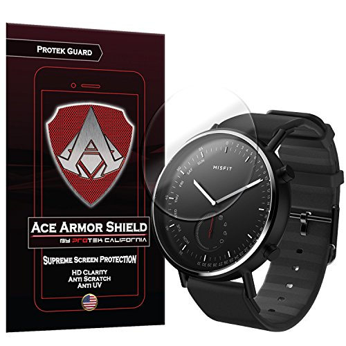 Misfit Command Screen Protector (6-Pack), Ace Armor Shield Full Coverage Screen Protector for Clear Anti-Bubble Shield