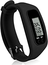 Bomxy Fitness Tracker Watch ,Simply Operation Walking Running Pedometer with Calorie Burning and Steps Counting Easy use Step Tracker