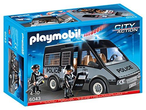 PLAYMOBIL: Furgón de policía con Luces