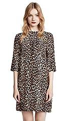 Animal print 3/4 sleeves