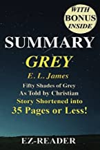 Summary - Grey: : Fifty Shades of Grey as Told by Christian -- Novel by E. L. James -- Story Shortened into 40 Pages or Less!