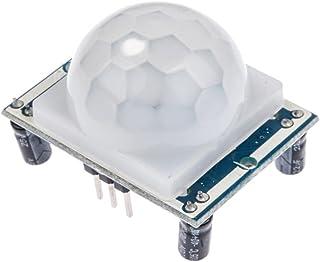 HALJIA Adjust IR Pyroelectric Infrared IR PIR Motion Sensor Detector Module HC-SR501 Compatible with Arduino Raspberry Pi ...