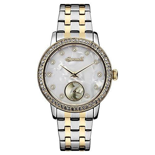 Ingersoll Damen Analog Quarz Uhr mit Edelstahl Armband ID00801