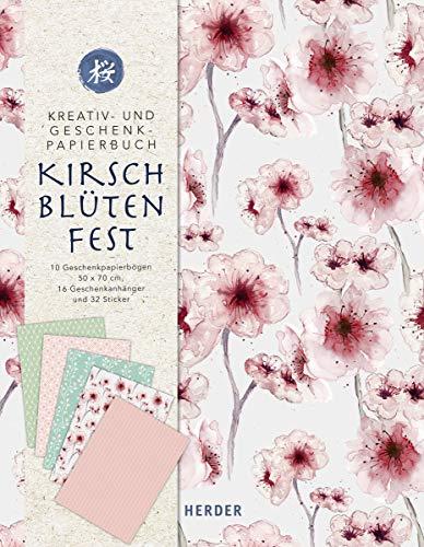 Kirschblütenfest: Kreativ- und Geschenkpapierbuch