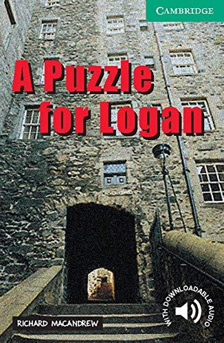 A Puzzle for Logan: Englische Lektüre für das 3. Lernjahr. Paperback with downloadable audio