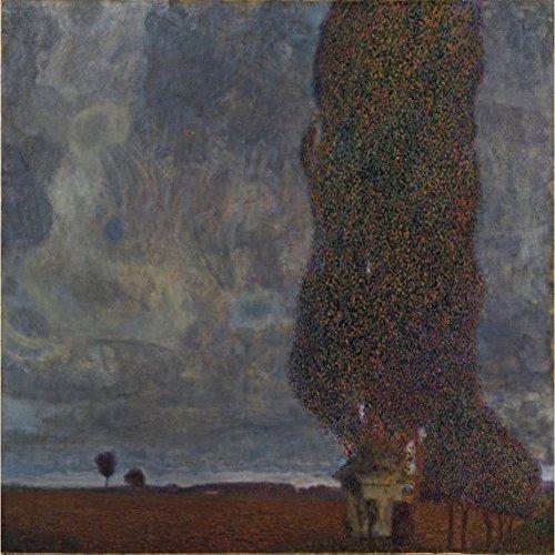 Niik Quadro + Telaio (BC) temporale in Avvicinamento Gustav Klimt 90 x 90 x 1,7 cm Falso d'autore Stampa su Tela