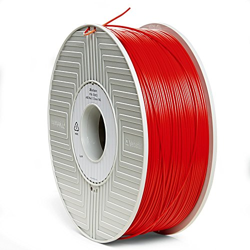 Verbatim 1.75 mm 3D ABS Filament for Printer - Red