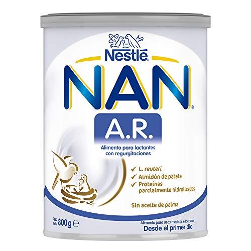 Nestlé Alimentos Infantiles NAN A.R. - Alimento en polvo para lactantes con regurgitaciones - Desde el primer día - 800g (12137835)