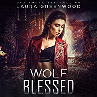 Wolf Blessed: A Paranormal Apocalyptic Reverse Harem cover art