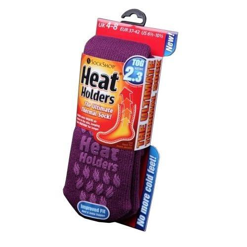 97697f417 Heat Holders Womens/Ladies Extra Warm Thermal Slipper Socks (2.3 Tog)