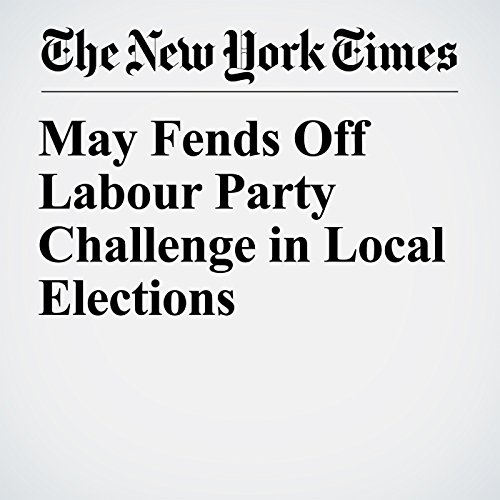 May Fends Off Labour Party Challenge in Local Elections copertina