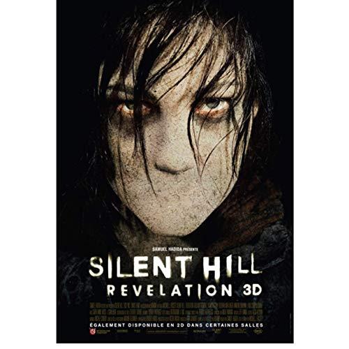 JLFDHR Silent Hill Classic Horror Movie Quality Wall Art Decoración para el hogar Pintura en Lienzo Decoración Bar Cafe Living Room Poster-60x80cmx1 Sin Marco