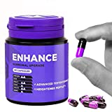 Enhance Natural Test Booster Tablets, Improve Athletic Performance, Intimacy Function, Immune Response