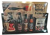 Dat'l Do-It 7 piece Grilling Gift Set with Cutting Board, with Seasoning, Bull's-Eye BBQ Sauce and Marinade and Hot Sauce