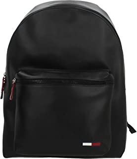 Tommy Jeans Men's Cool City Backpack PU, Black - AM0AM06150