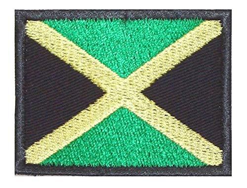 Preisvergleich Produktbild shirt-side gmbh Patch Aufnäher Aufnäher Jamaika Flagge
