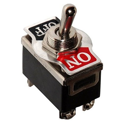 Aerzetix - Switch Kippschalter DPST ON-OFF 15A/250V 2 Positionen