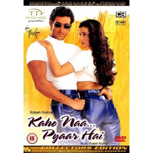 Kaho Naa...Pyaar Hai [DVD] [2000] [Edizione: Regno Unito]