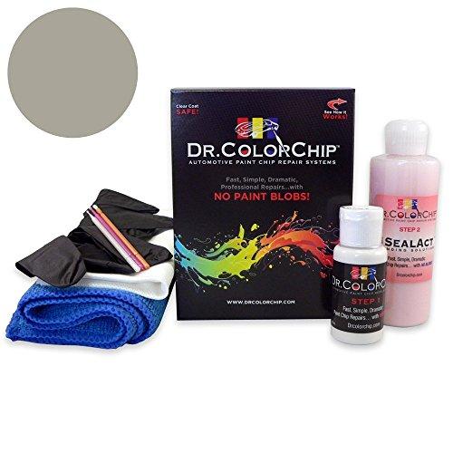 Dr. ColorChip Mercedes-Benz G-Class Automobile Paint - Palladium Silver Metallic 792/9792 - Road Rash Kit