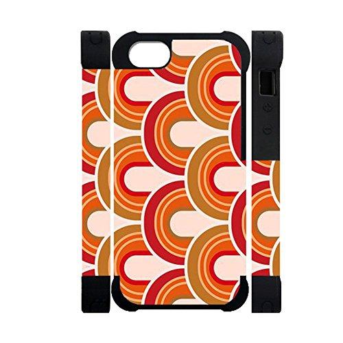 Gogh Yeah con Orla K Caja del Teléfono del Abs Y del Silicón Mujer Compatible En iPhone 6/6S 4.7Inch Abstracto Choose Design 111-1