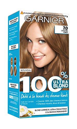 Garnier 100% Ultra Blond ACCESS Coloration Permanente 7.0 Le Blond Foncé