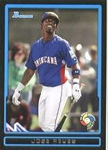 Jose Reyes - Dominican Republic (World Baseball Classic) 2009 Bowman Draft WBC Prospects Baseball Card # BDPW7 - MLB Baseball Trading Card