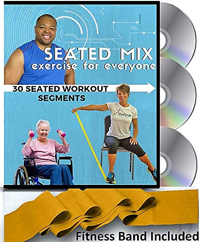 Seated Mix Chair Exercises For Seniors