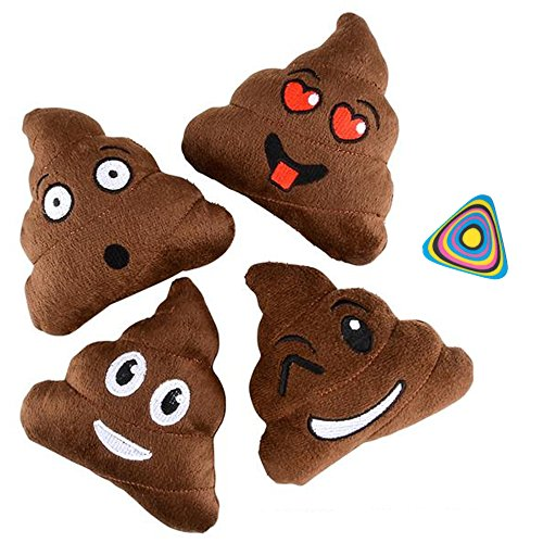 Shop Zoombie Emoji Poop Pillow 5&qu…