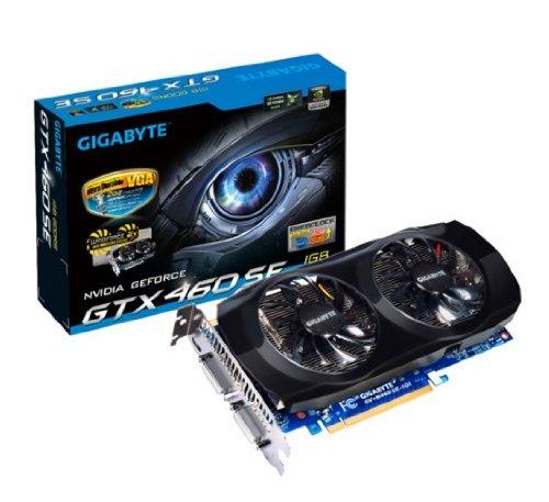 GIGABYTE GeForce GTX460 1024MB GDDR5 PCI-E 256bit DVI-I HDMI aktiv