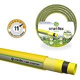 Smartflex Gartenschlauch Wasserschlauch SMT Comfort 5 lagig Schlauch Bewässerungsschlauch *Yellow Edition (25 Meter - 3/4' (19 mm))
