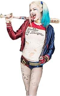 Inception Pro Infinite Fischnetz Str/ümpfe Harley Quinn Kost/üm f/ür Frau M/ädchen Karneval Halloween Cosplay Suicide Squad Film Idee Geschenk
