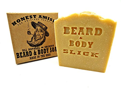 Honest Amish Organic Beard Soap