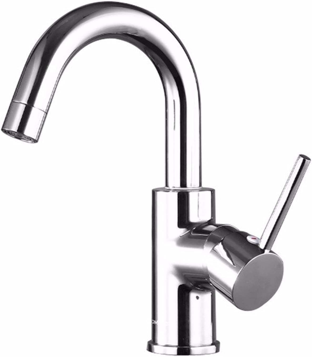LHbox Basin Mixer Tap Bathroom Sink Faucet Single Handle single hole hot and cold basin to redate the wash basin Washbasin Faucet