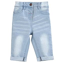 MINIKLUB Girls Denim Trouser-Blue