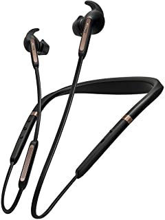 Jabra Elite 65e Alexa Enabled Wireless Stereo Neckband with In-Ear Noise Cancellation – Copper Black